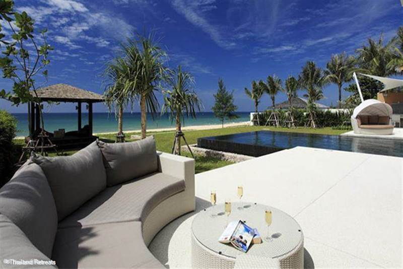 Our Luxury Thailand Beachfront Villas. First class service