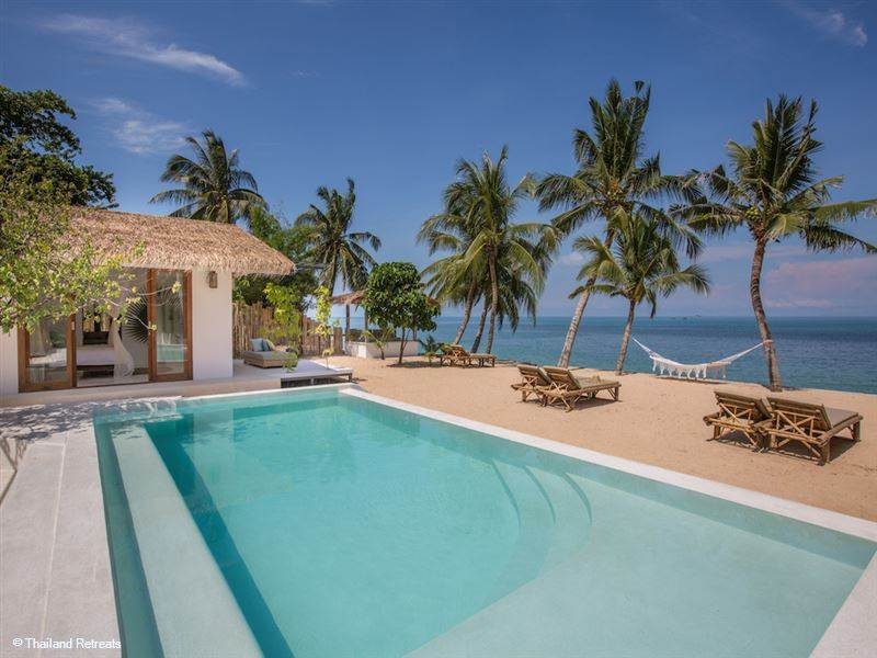 A Collection of Beautiful Beachfront Villas in Koh Samui, Thailand.