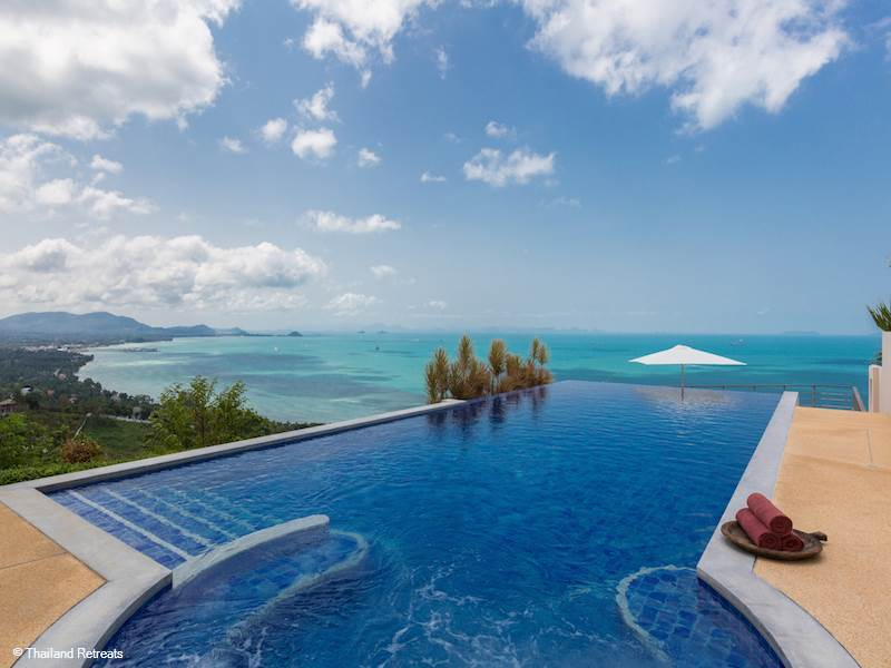 Sea View Villas in Koh Samui, Thailand